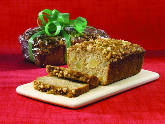 Apple Streusel Bread
