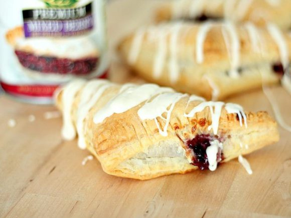 Berries n' Cream Turnovers