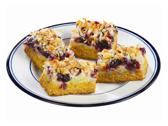 Blueberry Snack Bars Lucky Leaf