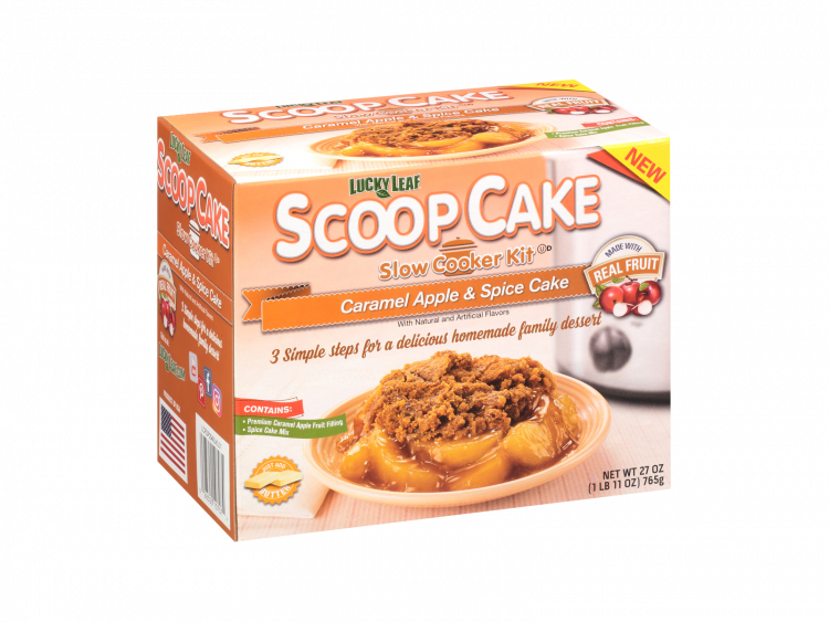 Scoop Cake Caramel Apple & Spice