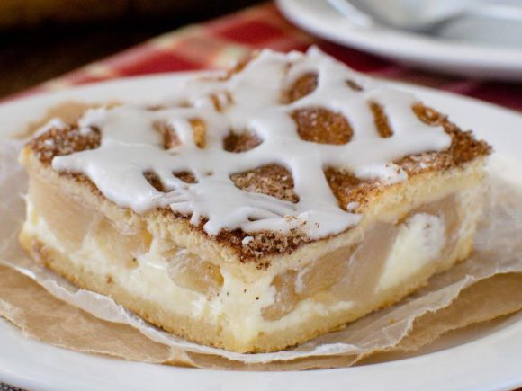 Cinnamon Sugar Apple Cheesecake Danish