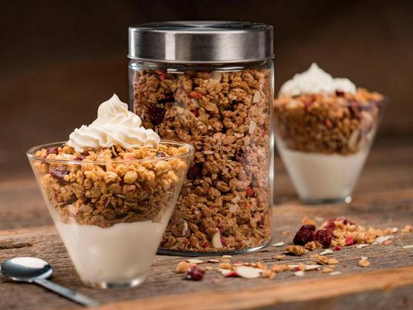 Easy Granola (low fat)