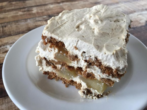 Ginger Cran-Apple Icebox Cake