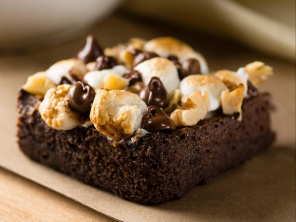 Rocky Road Brownies (low fat)