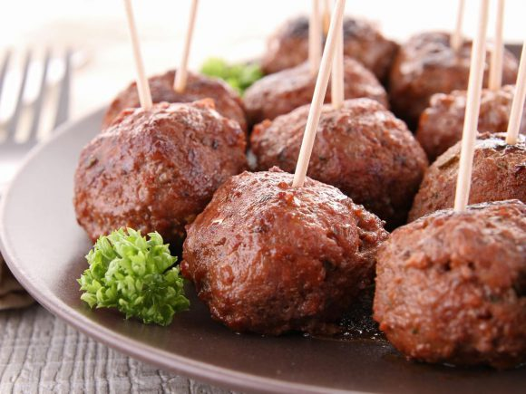 Turkey Meatballs (Low Fat)