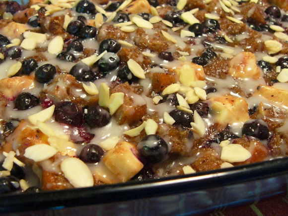 Very Berry Bread Pudding