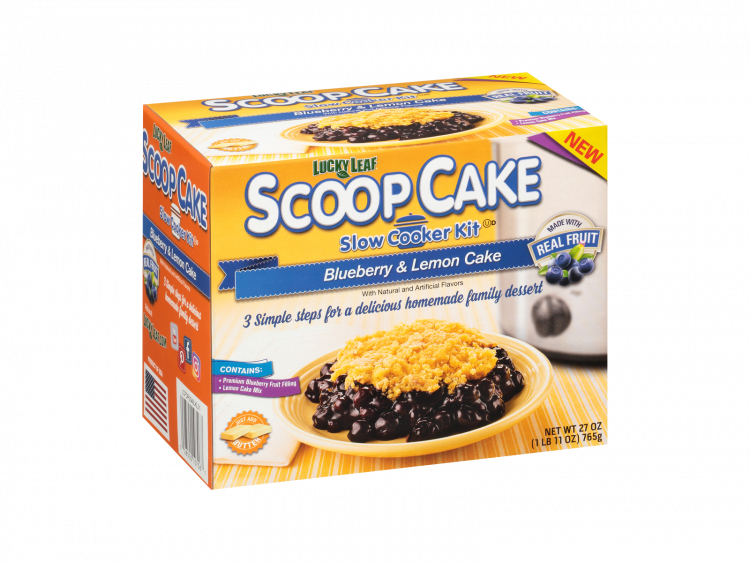 Scoop Cake Blueberry & Lemon