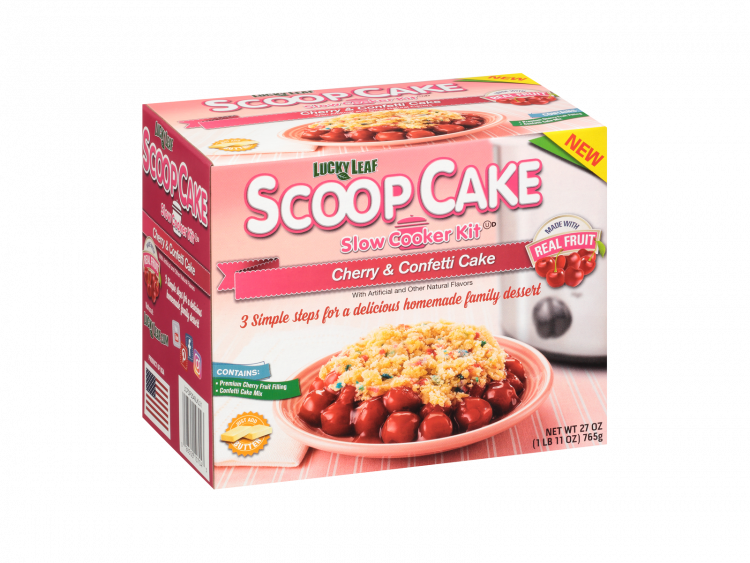 Scoop Cake Cherry & Confetti